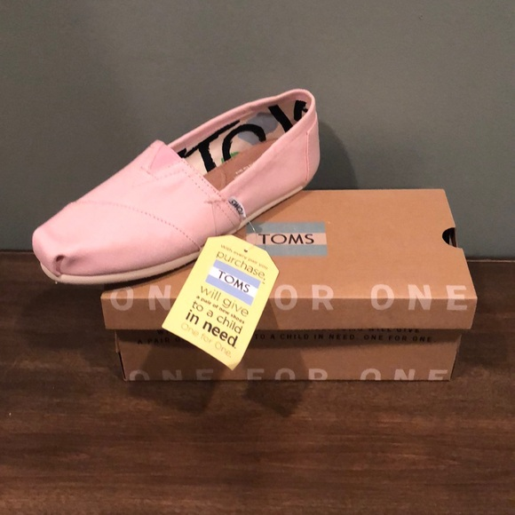 Toms Shoes | Brand New Light Pink In